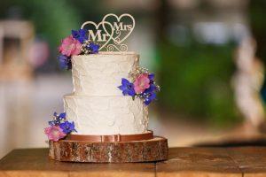 bruidstaart mr en mrs