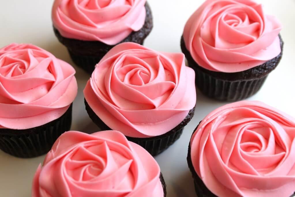 Chocolade cupcakes glutenvrij lactosevrij CakeandMore