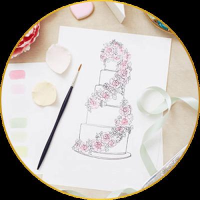 bruidstaarten ontwerp design uniek
