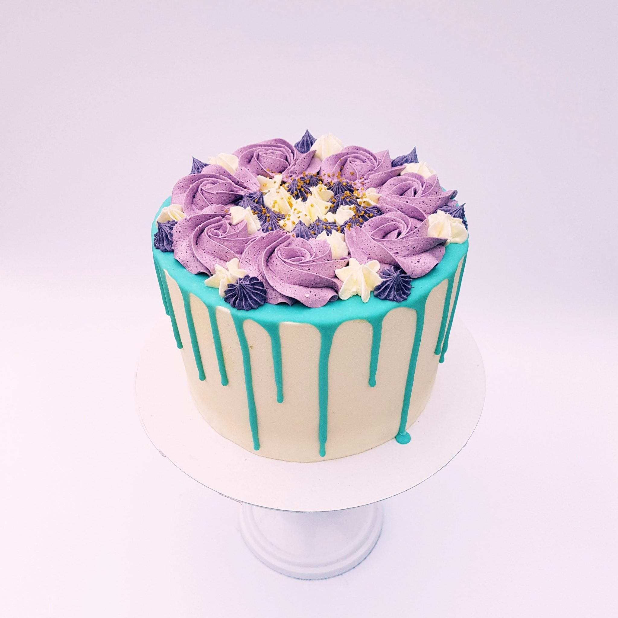 colorfull dripcake