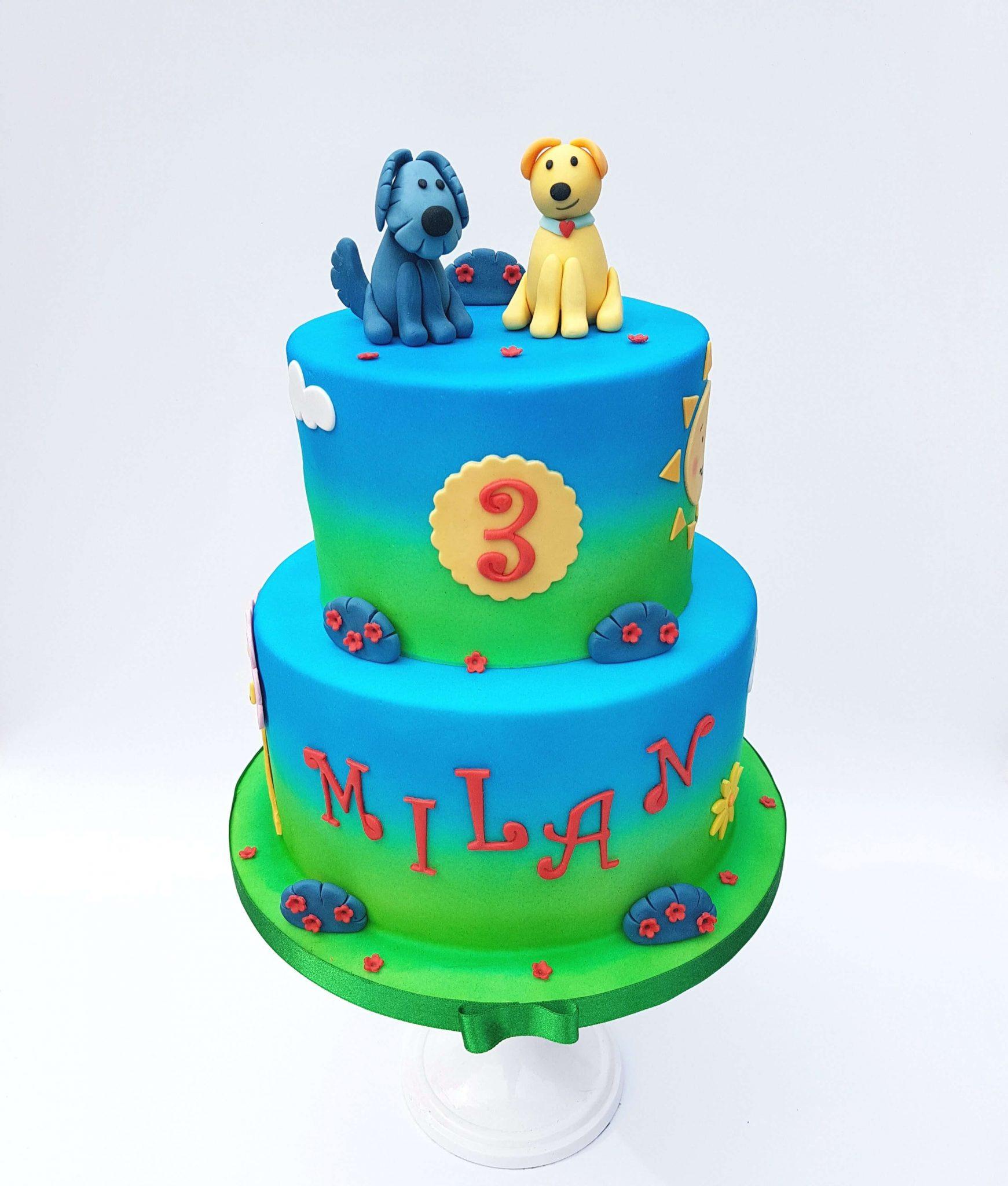 Woezel & Pip Verjaardag Taart