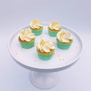 babyshower cupcakes groen