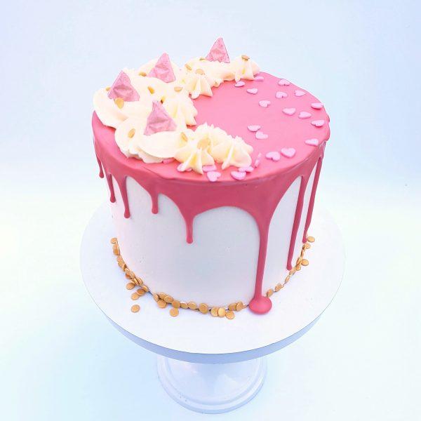 Pink Sweet Dripcake