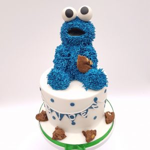 Cookie Monster Verjaardagstaart