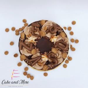 Sinterklaas Speculaas taart kruidnoten chocola