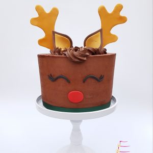 Rudolf Kerst taart Cake