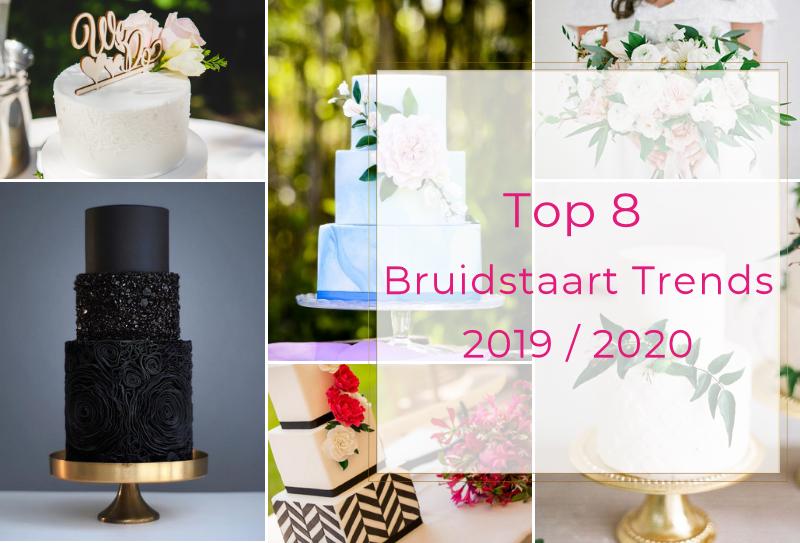 TOP 8 bruidstaart trends 2019-2020