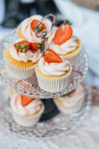 aardbeien cupcakes aarbei