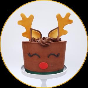 holiday feestdagen kerst sinterklaas rudolf taart
