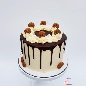 Kruidnoten dripcake sinterklaas taart