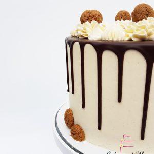 Kruidnoten dripcake pepernoten taart sinterklaas sint